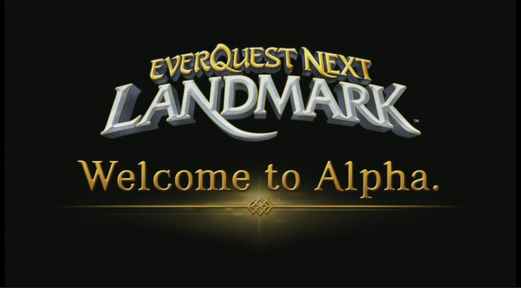 Welcome to alpha